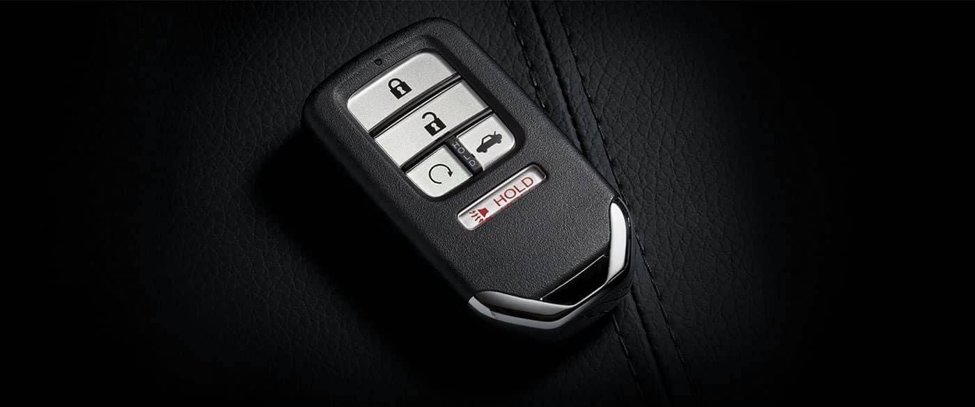 2018 Honda Civic Sedan Remote Engine Start Key
