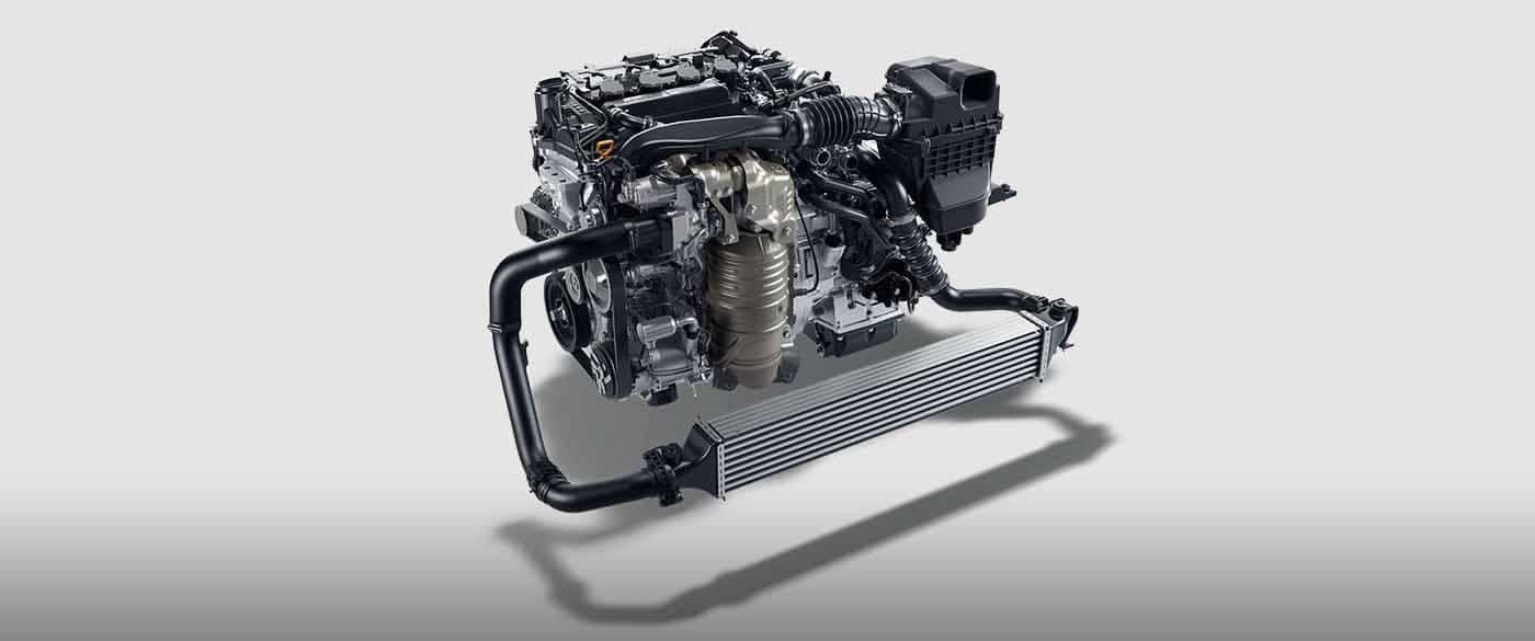 2018 Honda Civic Sedan Turbocharged Engine