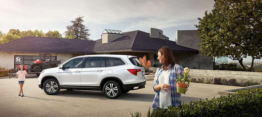 2018 Honda Pilot Shopping