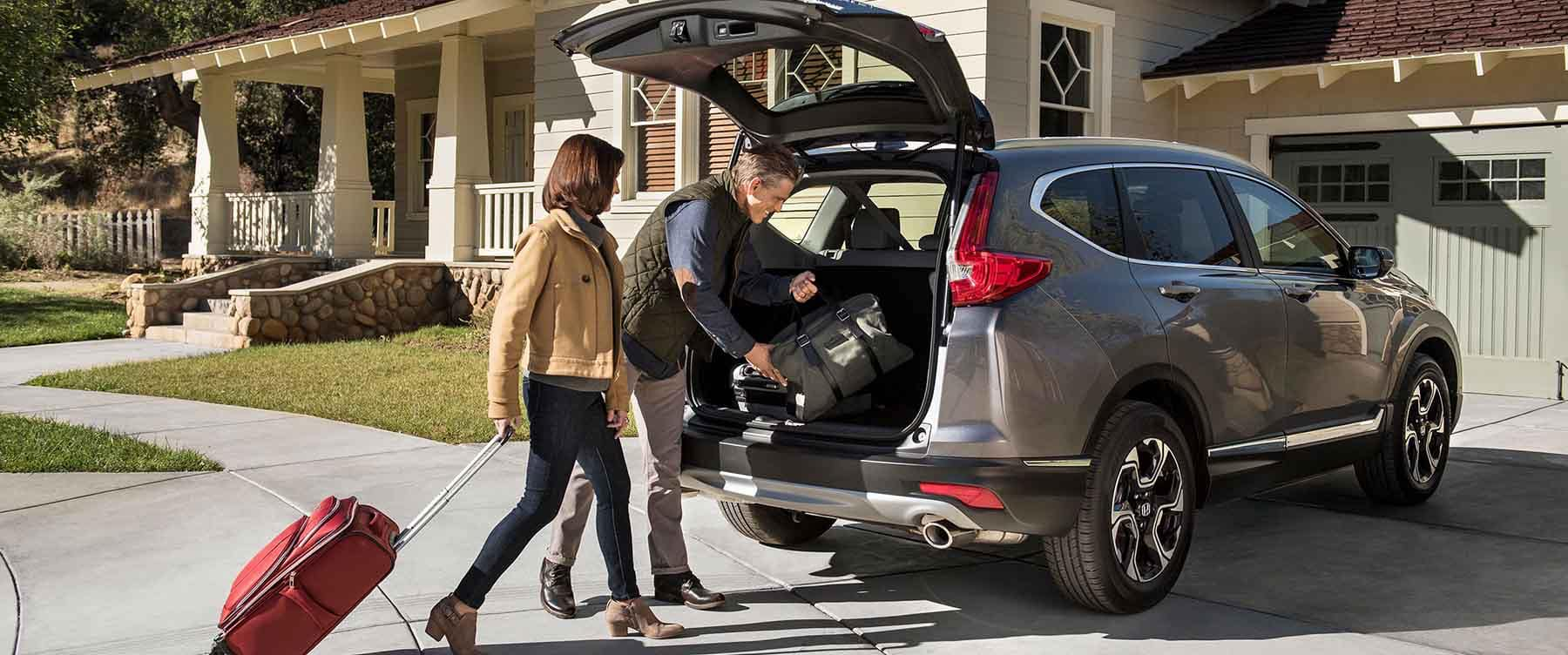 2018 Honda CR-V Cargo Storage Area