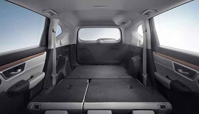 2018 Honda CR-V Open Area Cargo Space with 60/40 seats down