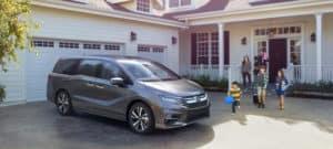 2019 Honda Odyssey Exterior Driveway Passenger Side