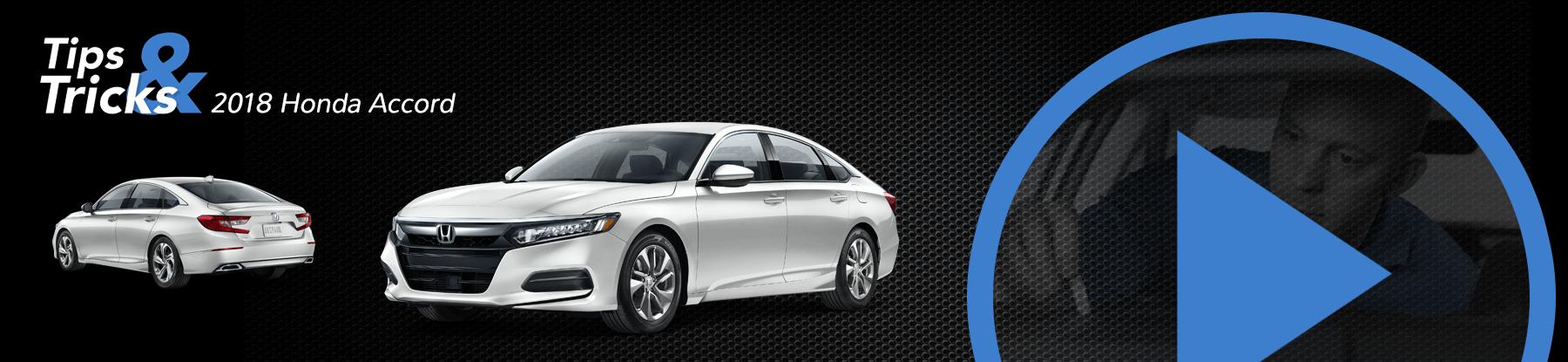2018 Honda Accord Tips and Tricks Banner