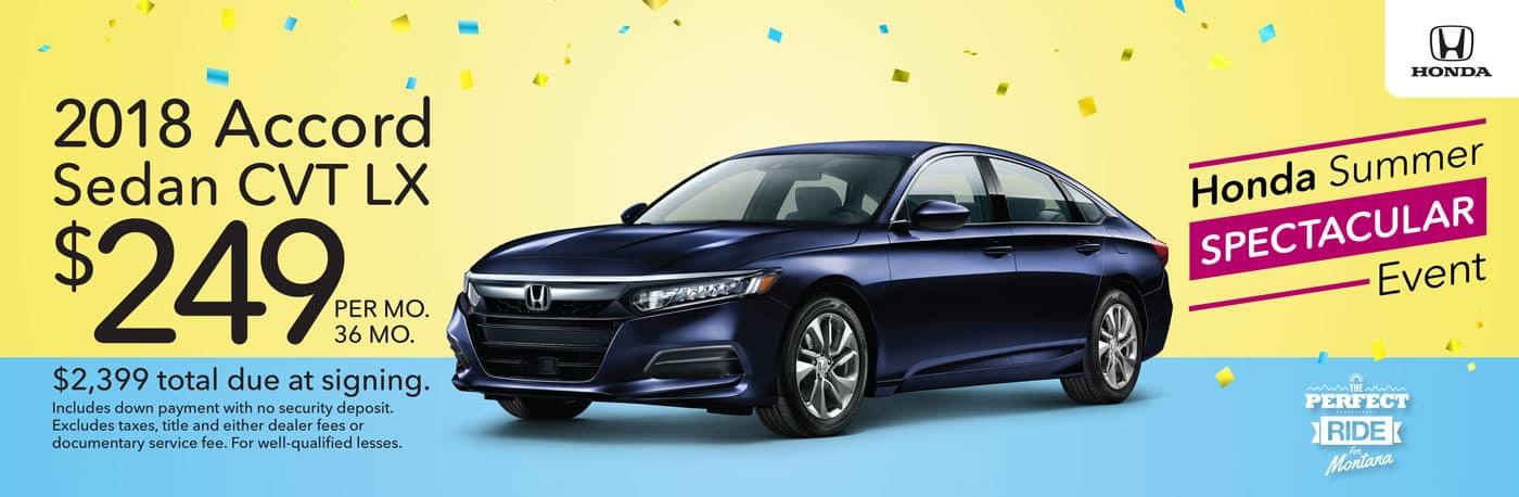Honda Lease Offers