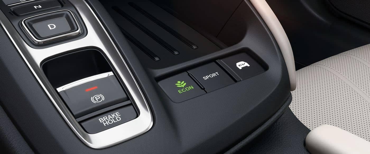 2019 Honda Insight Econ Button
