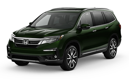 2019 Honda Pilot Black Forest Pearl