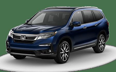 2019 Honda Pilot Obsidian Blue Pearl