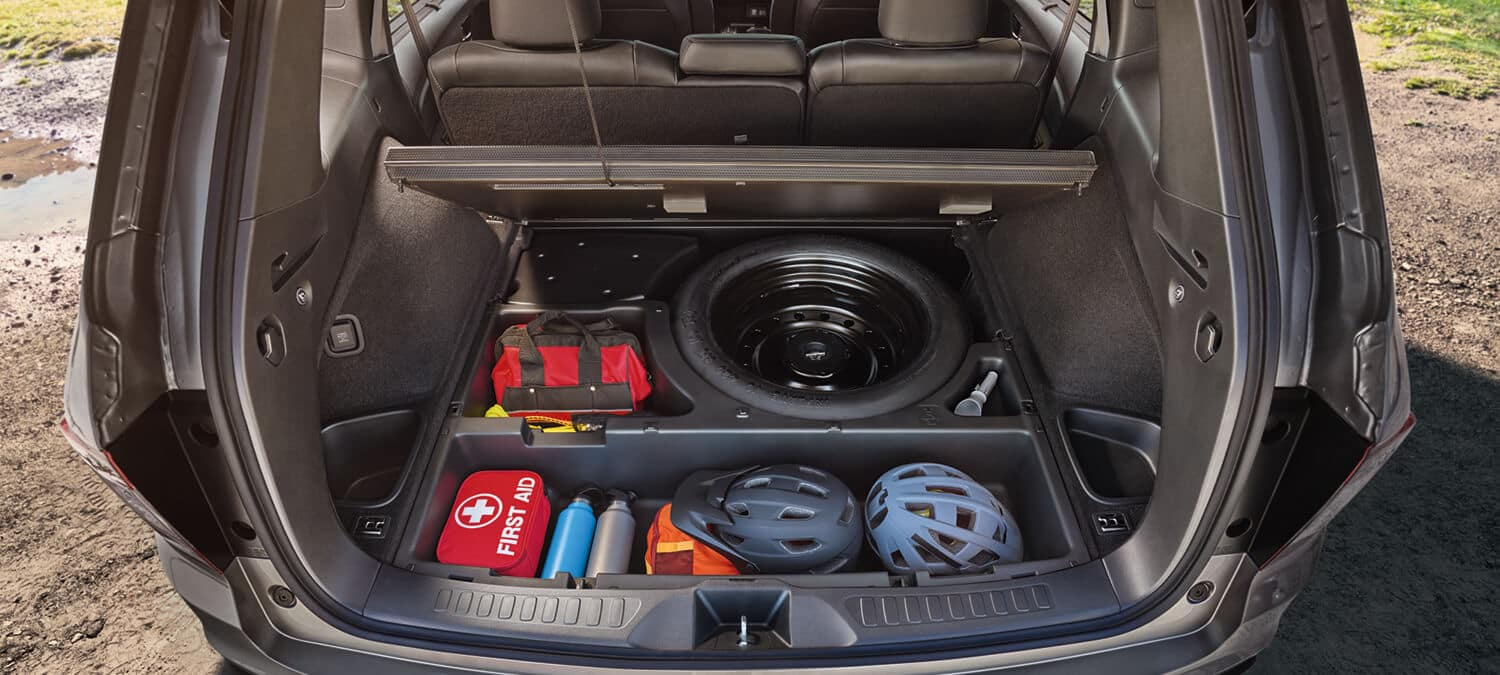 2019 Honda Passport Interior Underfloor Storage Compartments