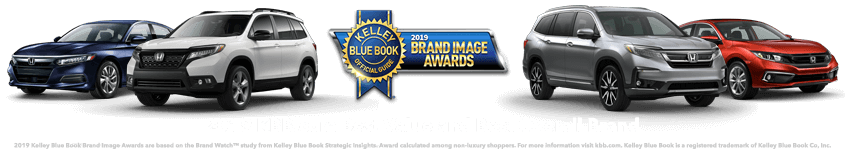 Honda 2019 Kelley Blue Book Brand Image Award HP Slide