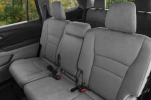 2020 Honda Pilot Interior Second and Third Row Seating