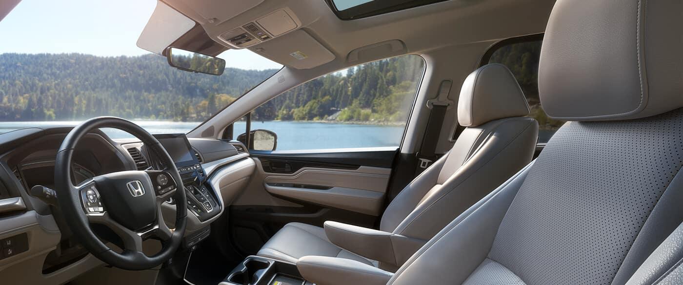 2020 Honda Odyssey Interior Cockpit Driver Side