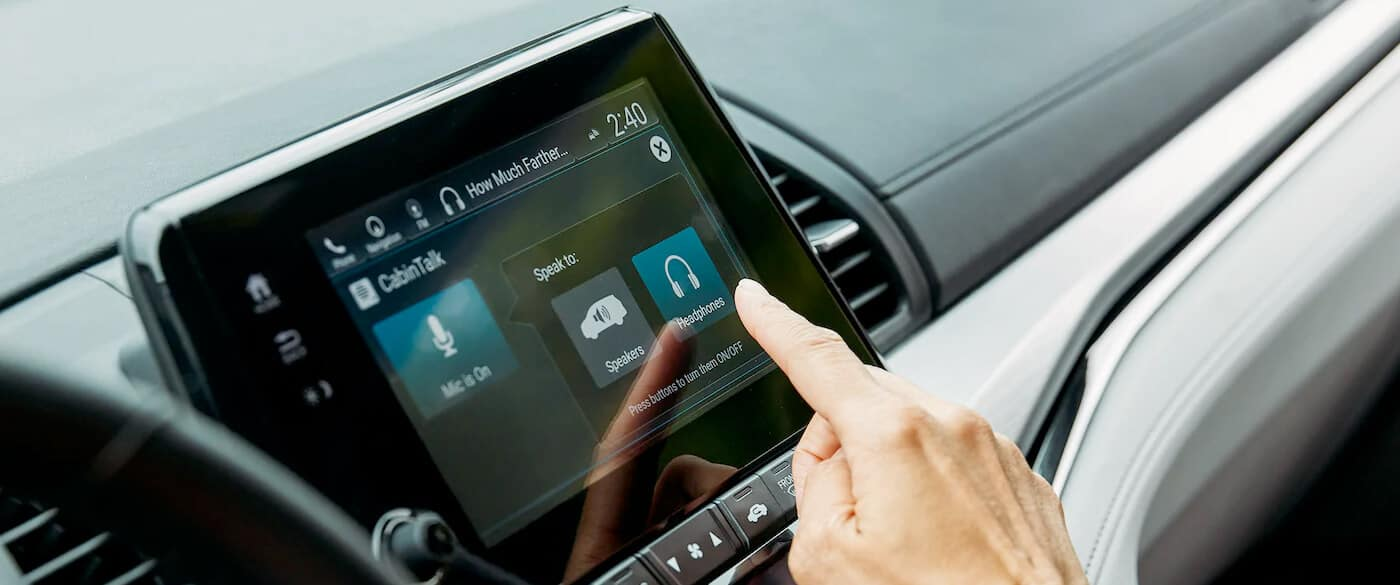 2020 Honda Odyssey Interior CabinTalk Feature