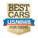U.S. News & World Report 2019 Best New SUV for Teens Honda HR-V