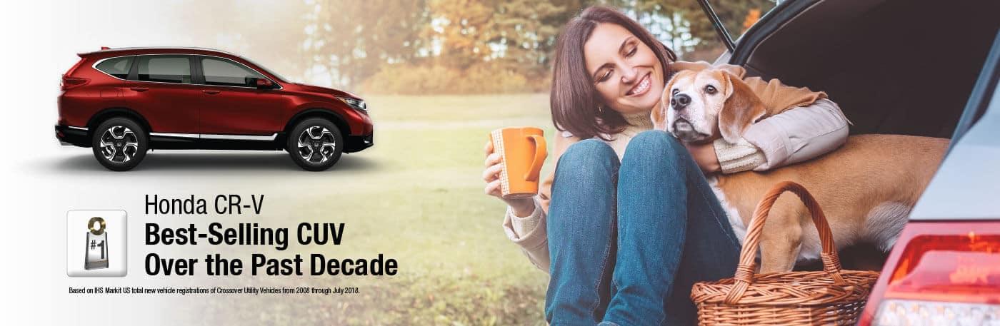 Honda CR-V Best-Selling CUV Banner