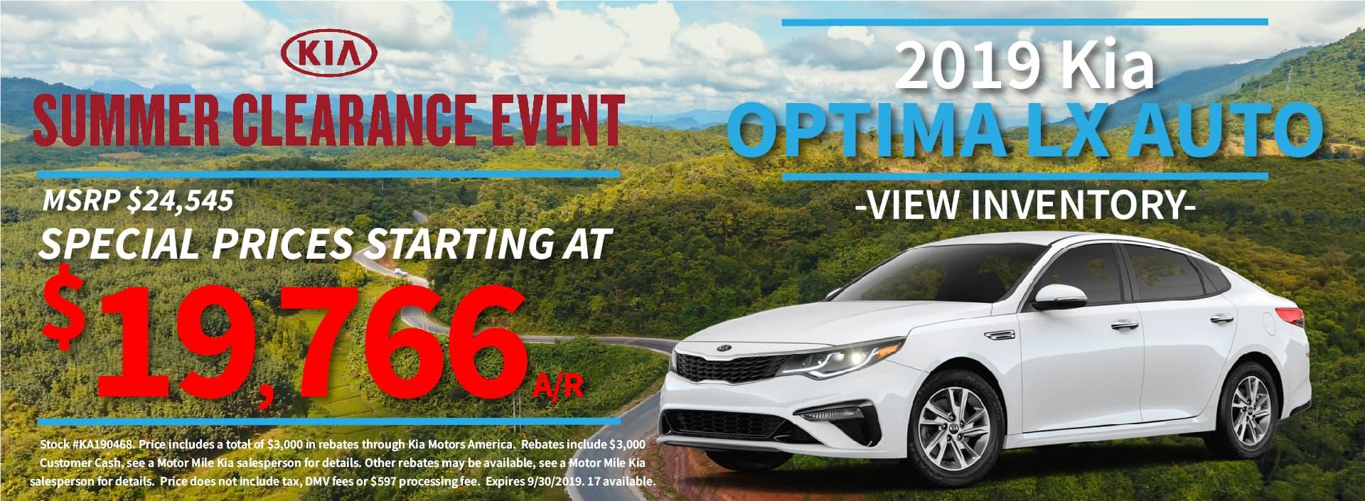 Motor Mile Kia   Auto Dealer and Service Center in