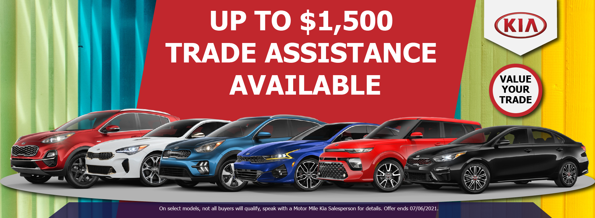 Trade in Assistance Banner