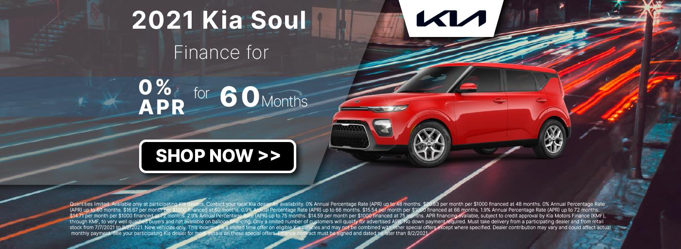 2021 Kia Soul Fixed