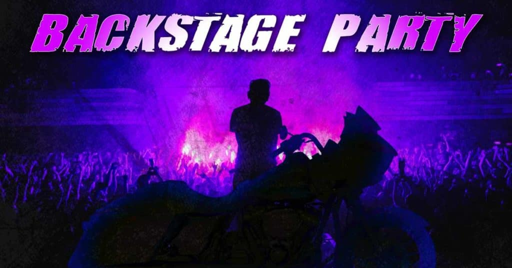 End of Month Backstage Party Free Food Music Motown Harley Taylor