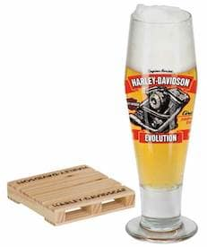 "HDL-18783 - Harley ""Evolution Engine"" Pilsner Set"