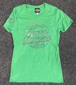 Women's Full Count Short Sleeve in Kelly Green - 402904440