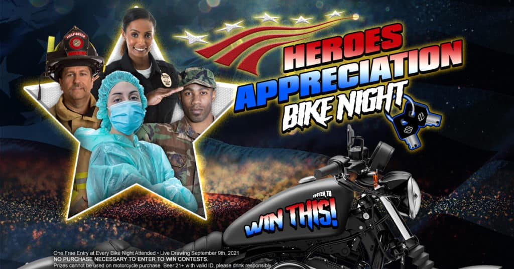 Heroes Appreciation Bike Night