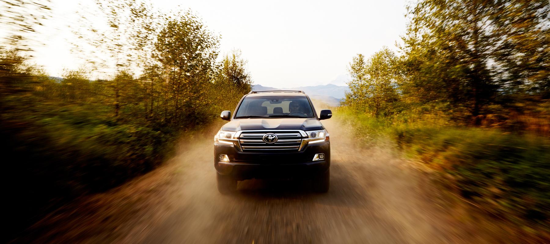Toyota Land Cruiser Driving