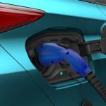 2017 Prius Prime charging