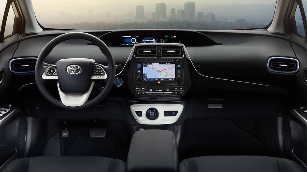 2017 Toyota Prius Interior   Toyota of Naperville