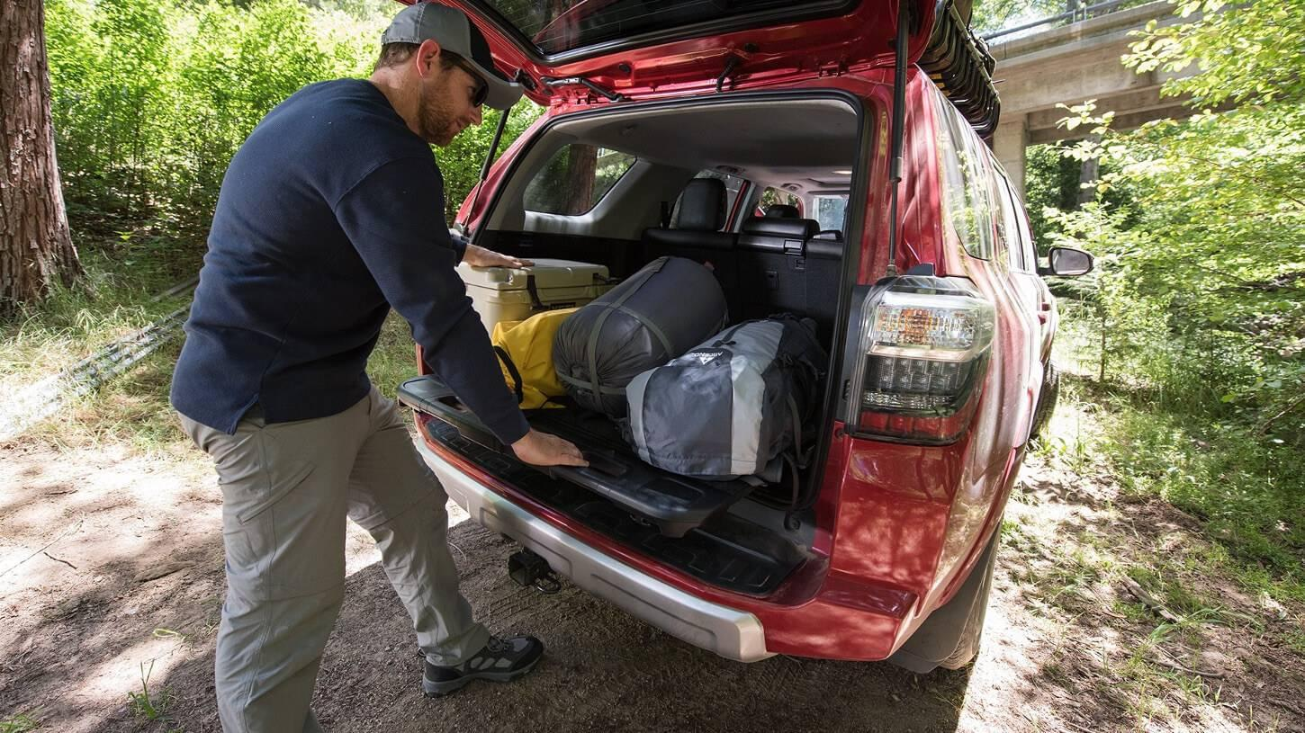 2017 Toyota 4Runner Interior Cargo Space