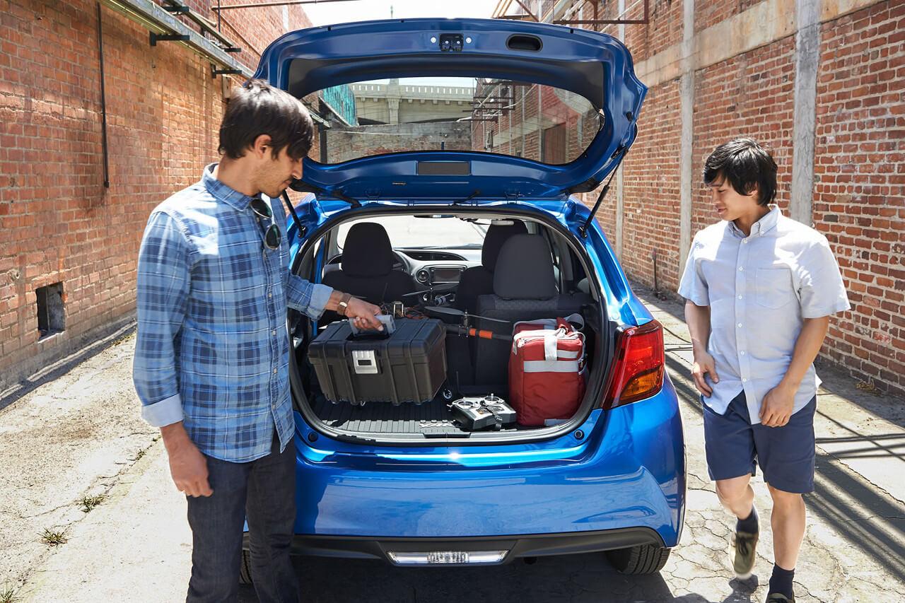 Toyota Yaris Cargo Space