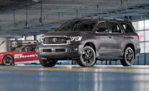 2018 Toyota Sequoia TRD Sport Indoors