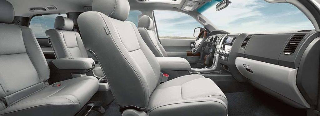 2017 Toyota Sequoia Interior Toyota Of Naperville
