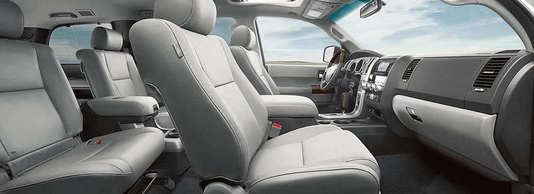 Toyota Sequoia Interior Images
