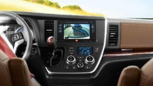 2017 Toyota Sienna Camera