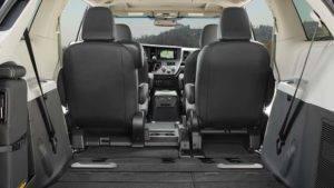 2017 Toyota Sienna Seats