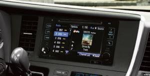 2017 Toyota Sienna Touchscreen