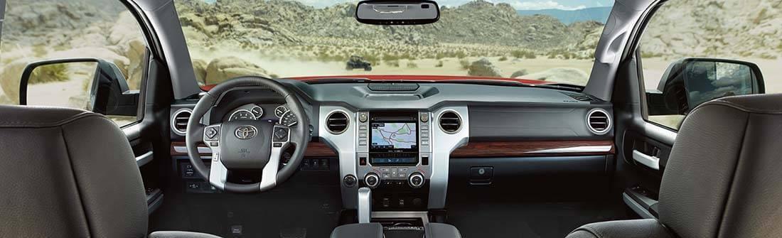 2017 Toyota Tundra Dash