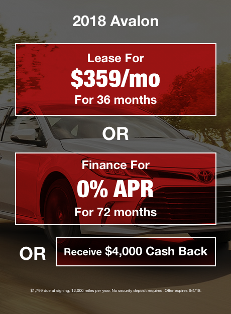 Avalon_mobileMay Offer