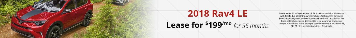 RAV4 Feb Lease Offer