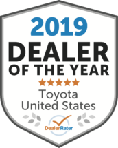 2017 DealerRater Dealer of the Year