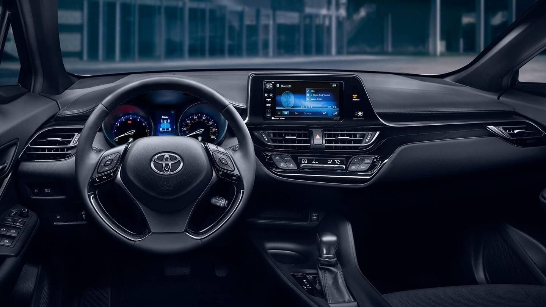 2018 Toyota C Hr Interior Toyota Of Naperville