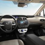 2017 Toyota Prius One Interior