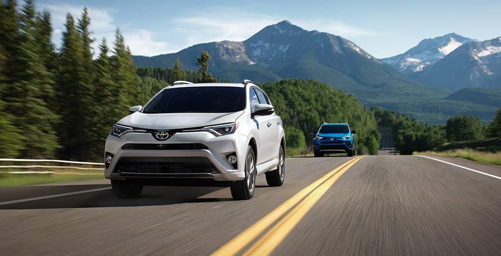 2017 Toyota RAV4 Hybrid Highway