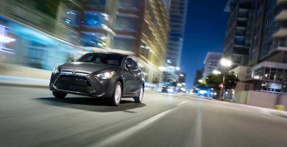 2017 Toyota Yaris IA Driving