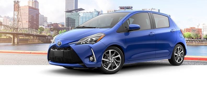 2018 Toyota Yaris Blue