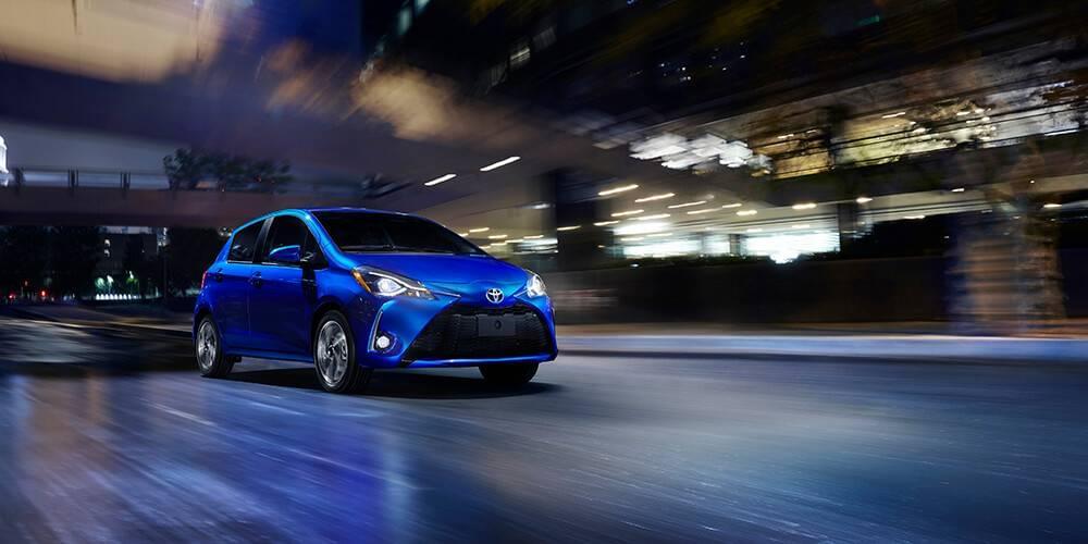 2018 Toyota Yaris Driving