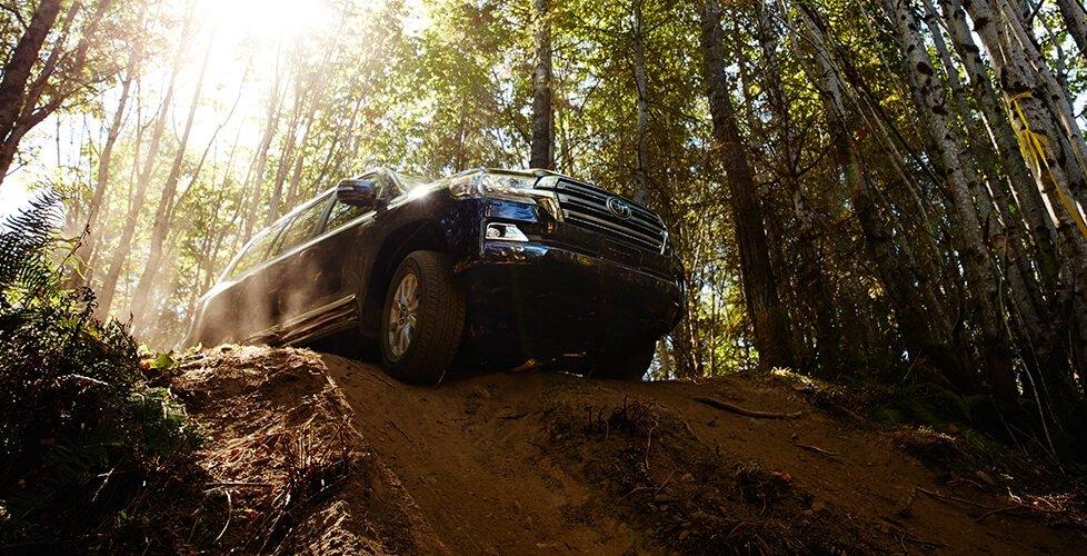 2017 Toyota Land Cruiser Crawl Control