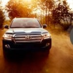 2017 Toyota Land Cruiser Safety Connect