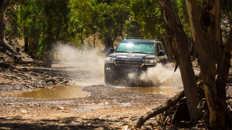 2017 Toyota Land Cruiser Safety