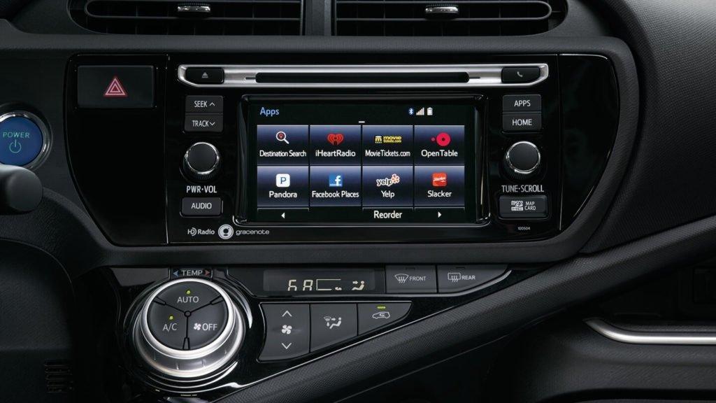 2017 Toyota Prius c Four Entune Audio App Suite
